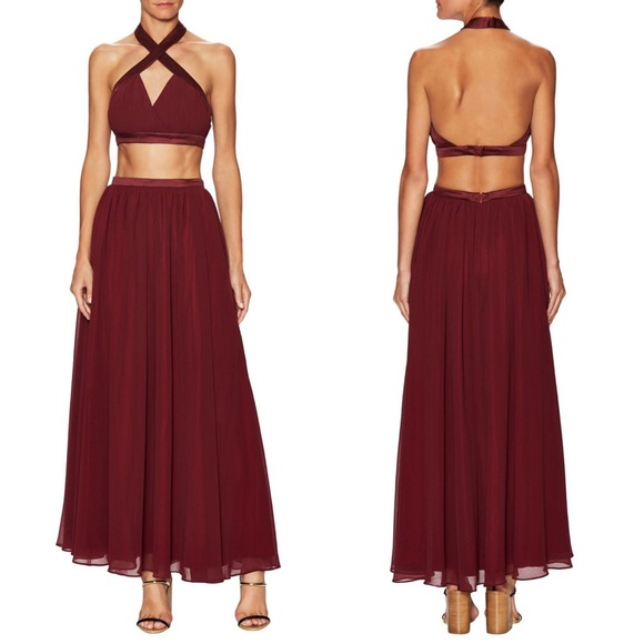 Fame and Partners Dresses & Skirts - NEW Fame and Partners Cali Two Piece Skirt Set